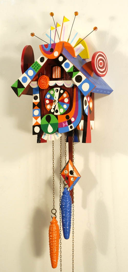 25 best ideas about coo coo clock on pinterest cuckoo clocks vintage clocks and victorian - Colorful cuckoo clock ...