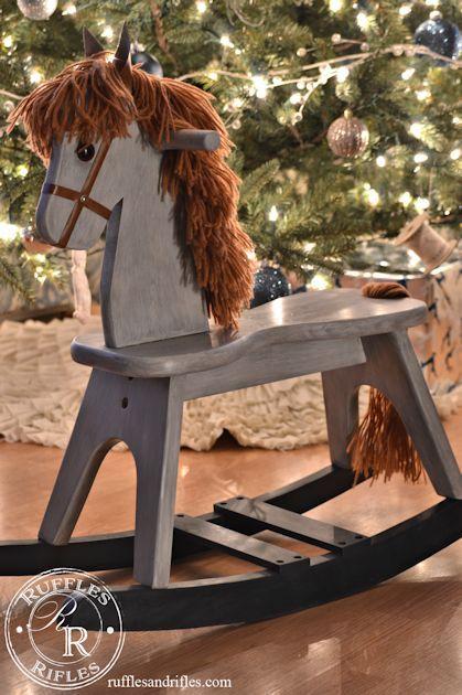 Wooden Rocking Horse | Craft Ideas | Horses, Wood rocking ...