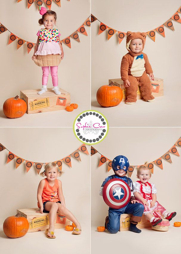 san diego halloween mini session photographer children family babies newborn maternity play town indoor playground photo