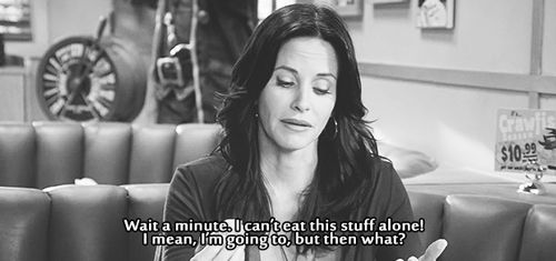 "On eating lunch alone | Community Post: 20 Times ""Cougar Town"" Was The Most Relatable Show On TV"