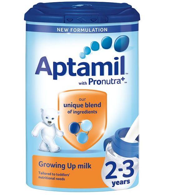 Milupa Aptamil USA Seller Toddler 2+ Years Growing Up Milk 800g