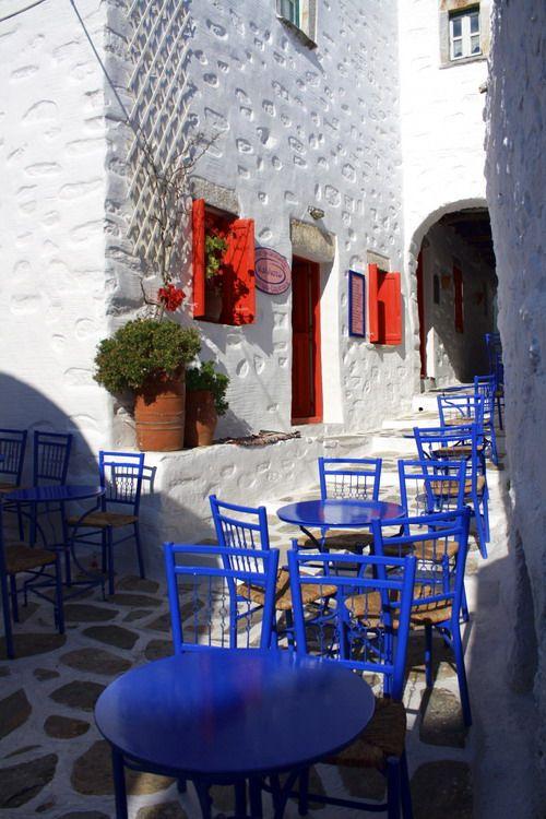 """Kallisto"" pastry shop located in Chora, Amorgos, Greece"
