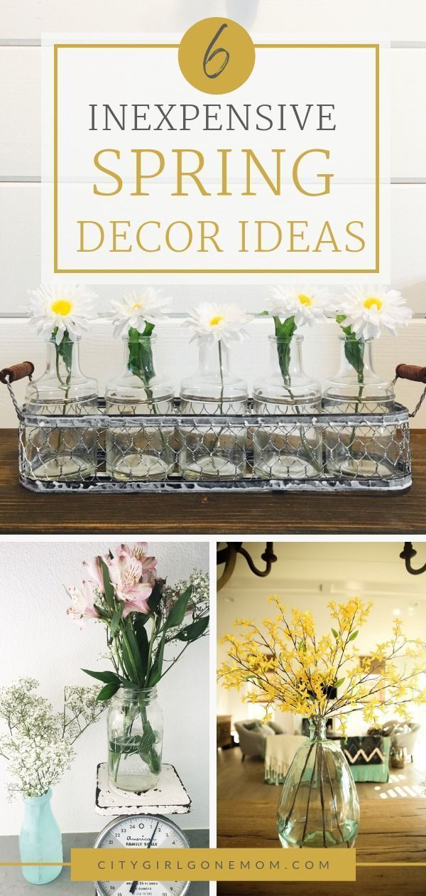 6 Inexpensive Ways To Bring Spring Decor To Your Home In 2020