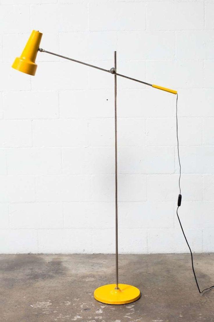 Yellow floor lamp - Yellow Floor Lamps Design Dutch Design Floor Lamp In Sunshine Yellow At 1stdibs Hoomee