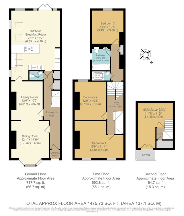 Floor plan extension nelson road side return extensions for Kitchen ideas 3 bed semi