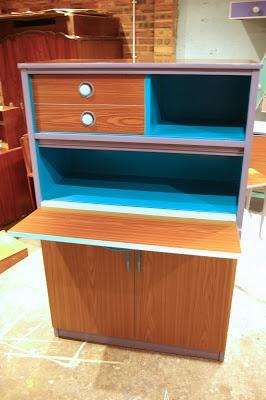 Ziggy sawdust upcycled 1950s kitchen cabinet michael 39 s for Upcycled kitchen cabinets