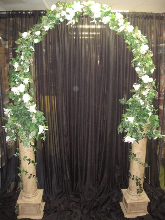 Bridal Pillar Arch Wedding RentalsFun