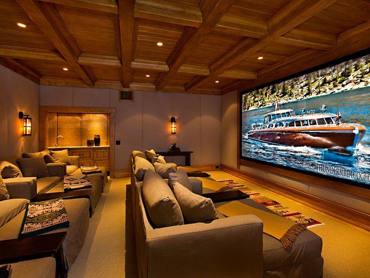 Mansion dream house: Oracle Billionaire Larry Ellison's Stunning Lake Tahoe  Getaway Compound. Dream HousesMovie Theater RoomsMovie ...