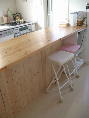 『手作りキッチンカウンター☆』 | 【KurizInteriorLife】インテリアデザインブログ