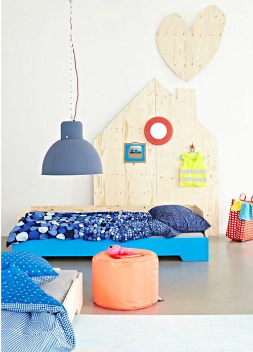 vtwonen huiscollectie kinderkamer blauw