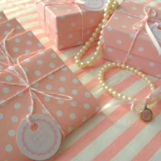 Pearls themed baby shower by www.rpsevents.gr