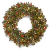 Found it at Wayfair - Crestwood Spruce Pre-Lit Wreath with 50 Battery-Operated White LED Lights