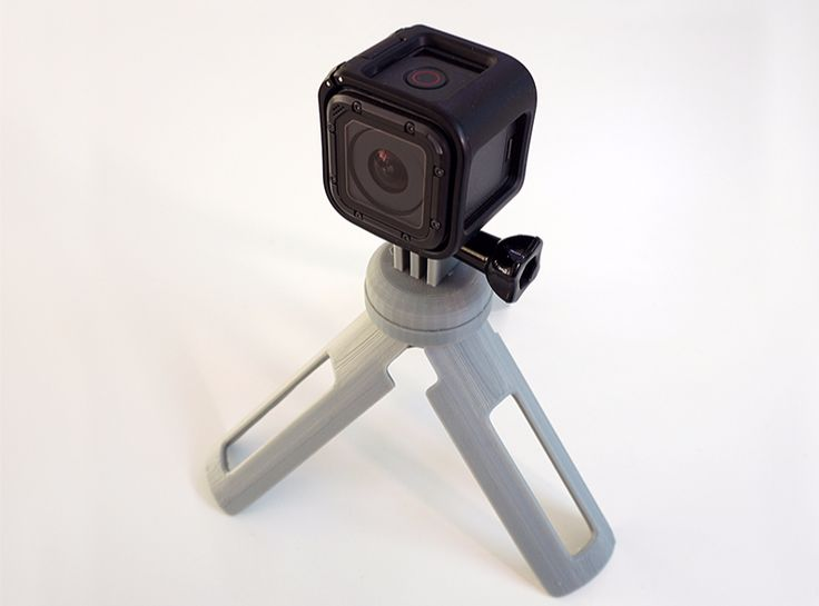 GoPro grip/tripod - a 3D model by Adrian Mankovecký | VECTARY