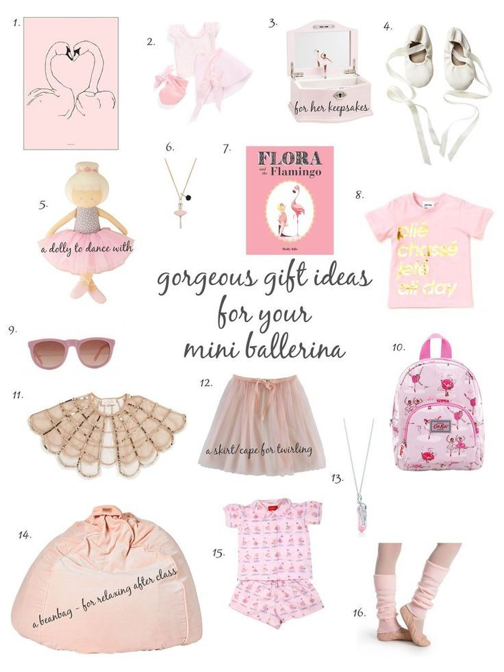 Gorgeous Ballet Inspired Gift Ideas For Your Mini Ballerina