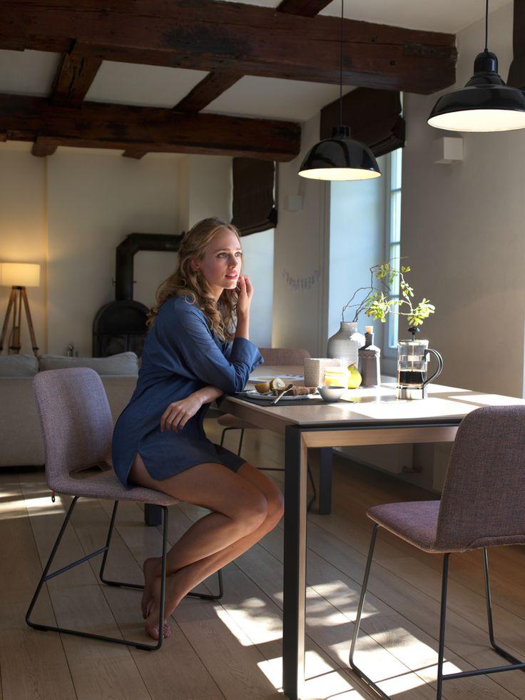 Collectie Prima-Lux en Idee+: prachtige stoelen met detail onder aan rug