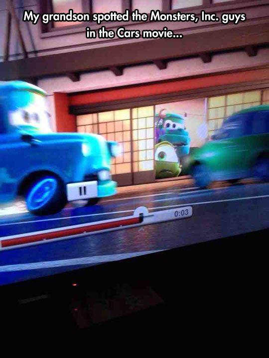 Another Disney Movie Cameo<<< *Looks toward the sky* *shakes fist and screams* DIIIISSSSNNNNNNEEEYYYYYY!!