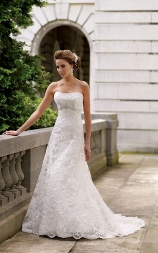 A line  from lace - David Tutera 113211