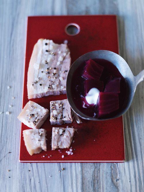 Borsjtj— rødbedesuppe