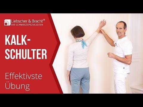 Kalkschulter |  Irrtümer & die effektivste Übung | Schulterschmerzen - YouTube
