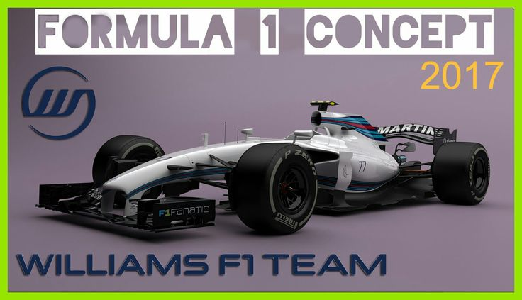 F1 2017 willimas martini!!