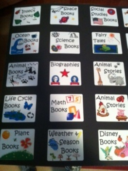 Fun, bright & bold book bin labels for your classroom library!