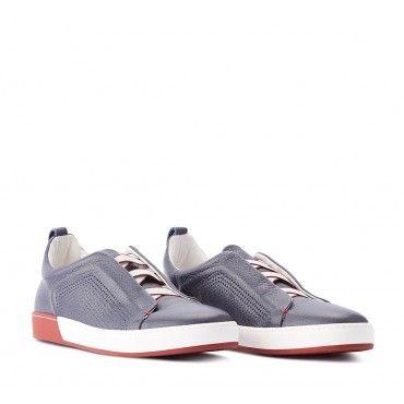 Sneakers Uomo Fabi FU8009 SCARPA UOMO ADRIACOL/OXF. BLU/ROSSO - Fabi