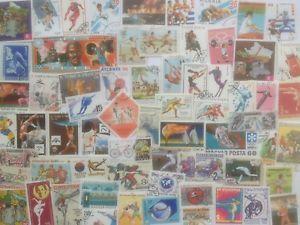 a coleccion sellos 3000 diferentes deportes en