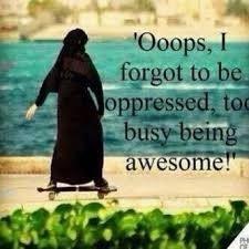 Ops! I forgot to be oppressed❤️