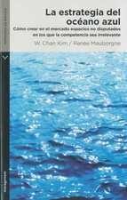 LIBRO: LA ESTRATEGIA DEL OCEANO AZUL - W. CHAN KIM / Este libro se propone cambiar los esquemas y ofrece un marco analítico y las herramientas para crear y capturar océanos azules. En él se examina una amplia gama de movimientos estratégicos de un gran número de industrias y se destacan los seis principios que toda empresa puede aplicar para formular y ejecutar con éxito estrategias de océano azul.