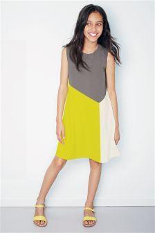 Colourblock Dress (3-16yrs)