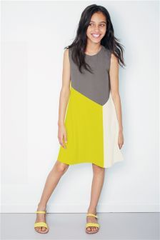 Colourblock Dress (3-16yrs)