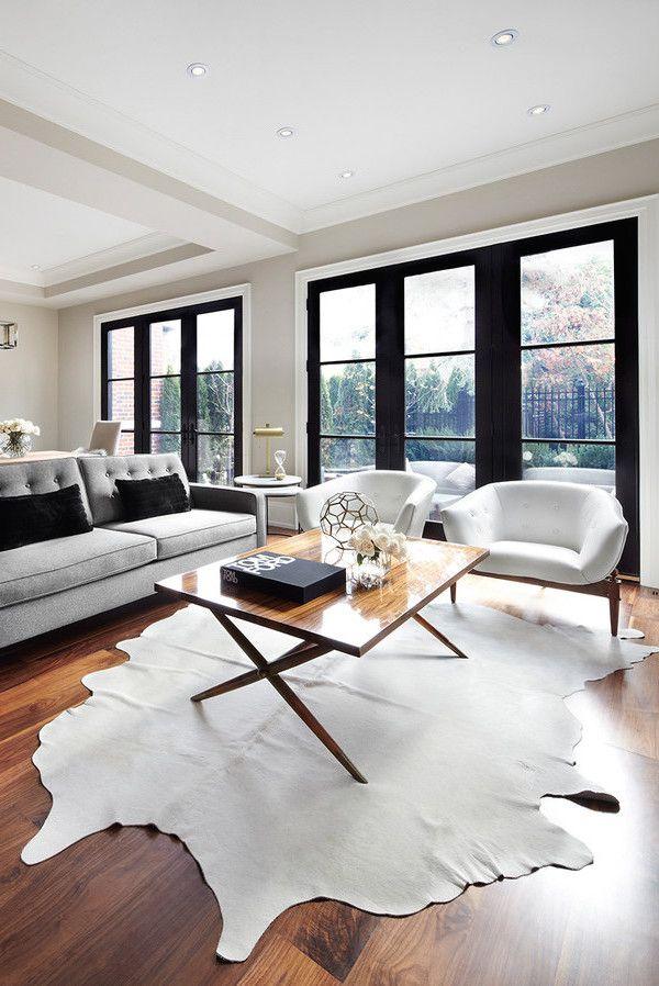 65 Modern Minimalist Living Room Ideas: Best 25+ Cow Rug Ideas On Pinterest