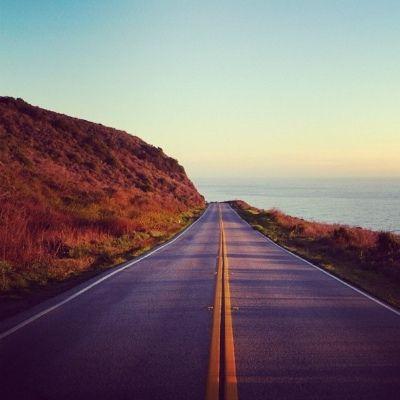 open road...