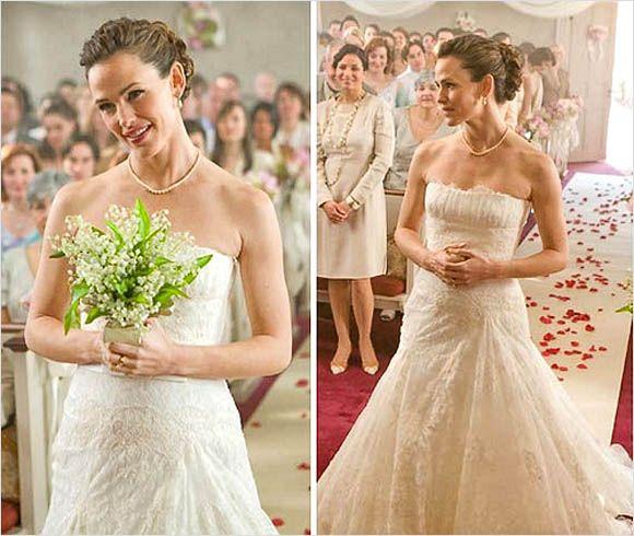 Jennifer Gardner Bride in Ghosts of Girlfriends Past I Most Memorable Movie Brides I Chic Parisien I cpbride.com/blog