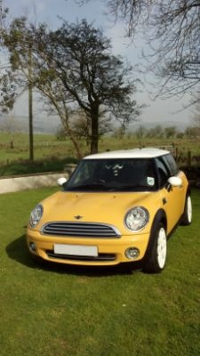 Jan 2007 MINI Cooper - We couldn't have a Yellow Car Board without including a Mini Cooper :-)
