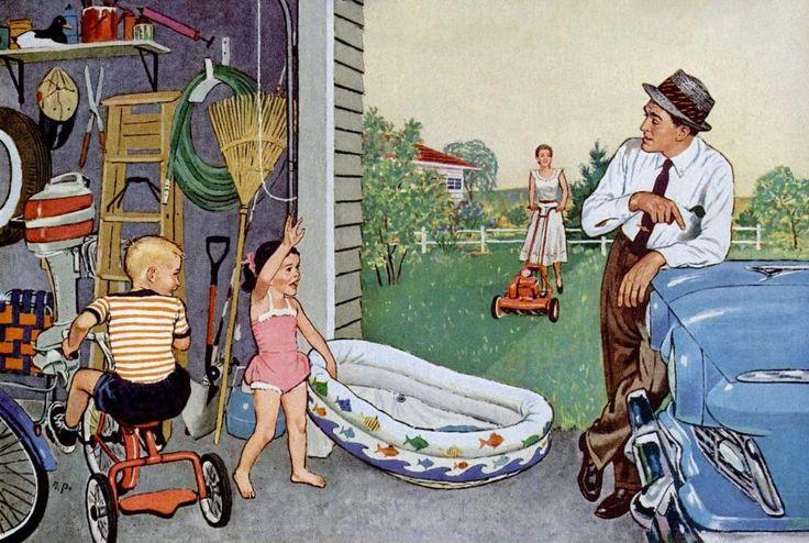 17 best 1950s Family images on Pinterest  1950s Family Life