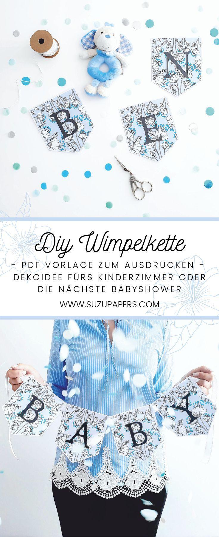 DIY Idee fürs Kinderzimmer   Wandgestaltung Babyzimmer  Babyshower Boy #babyshower #babyzimmer #kinderzimmer #wandgestaltung