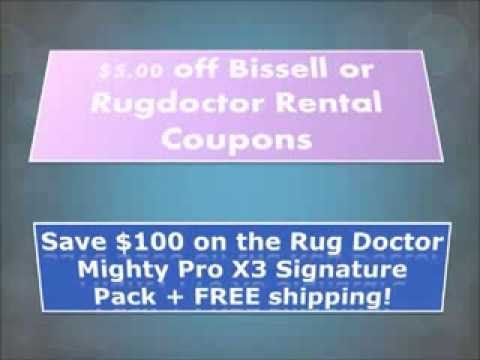 Rug Doctor Al Coupons Savings On Carpet Cleaning With