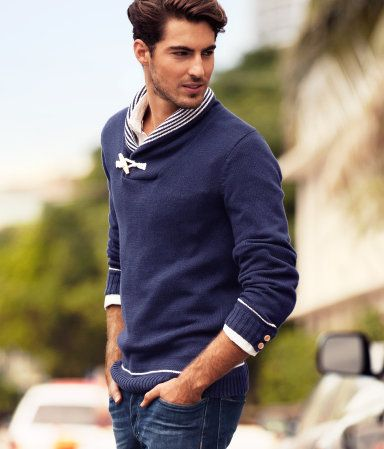casual and chic for men - h&m