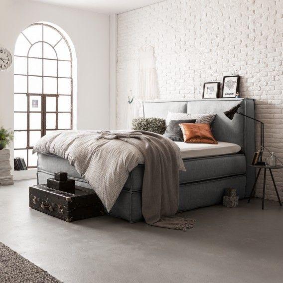 25 besten Boxpringbetten Bilder auf Pinterest Möbel discount - italienische einrichtungsideen schlafzimmer mobel
