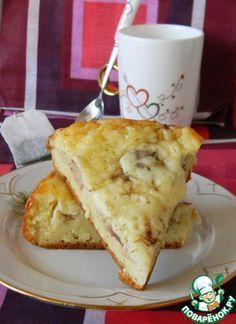 Сырный пирог с фрикадельками