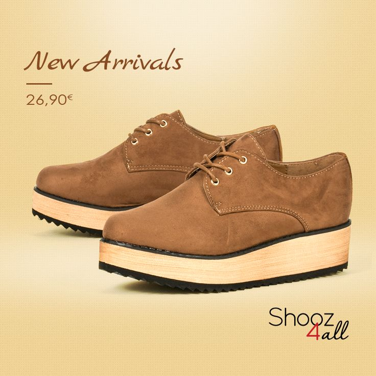 NEW! Κάμελ γυναικεία flatforms! #shooz4all #camel #flatforms
