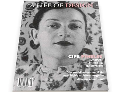 """Check out new work on my @Behance portfolio: """"A Life of Design: Cipe Pineles"""" http://be.net/gallery/37797363/A-Life-of-Design-Cipe-Pineles"""