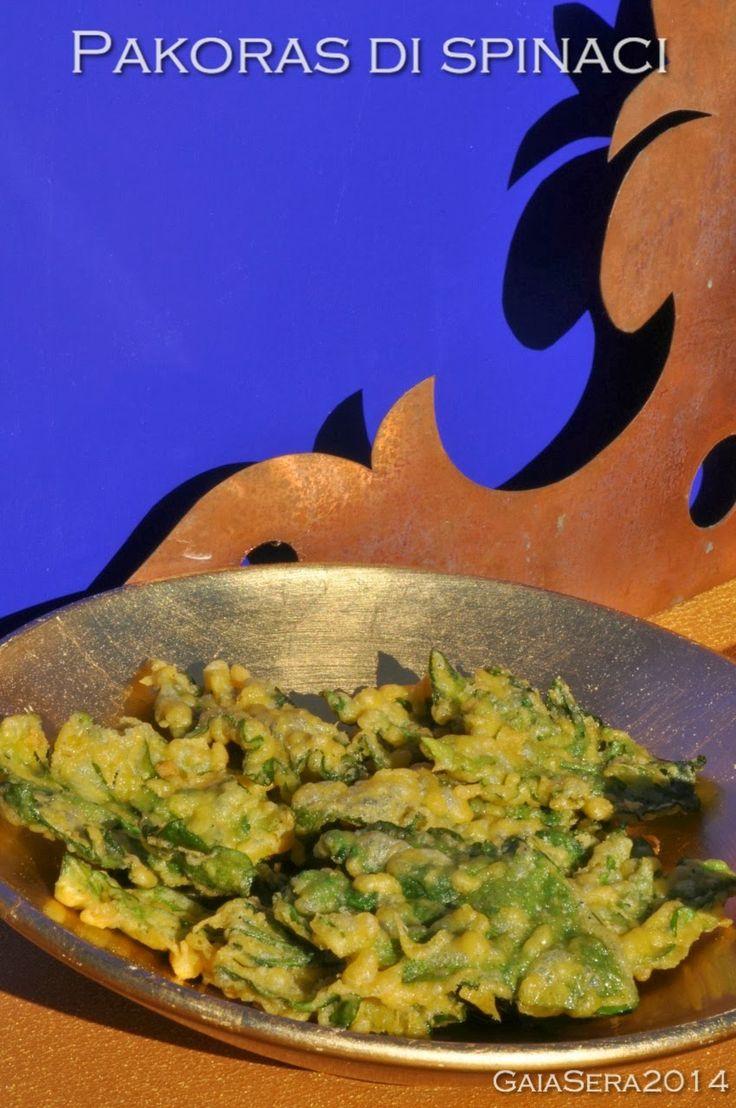 Burro e Malla: Pakoras di spinaci