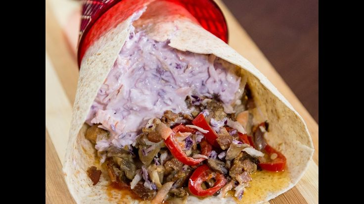 Do you want to quickly whip up something satisfying and delicious and then just get out the door to meet your friends? This chicken and mushroom tortilla wrap is ready in less than 30 minutes and its a perfect wrap-to-go so hit the road!  --------------------- Follow us on: Facebook: http://sodl.co/2dRsH0l Instagram: http://sodl.co/2eMvdCP  Twitter: https://twitter.com/sodlco  Pinterest: http://sodl.co/2dRrshD