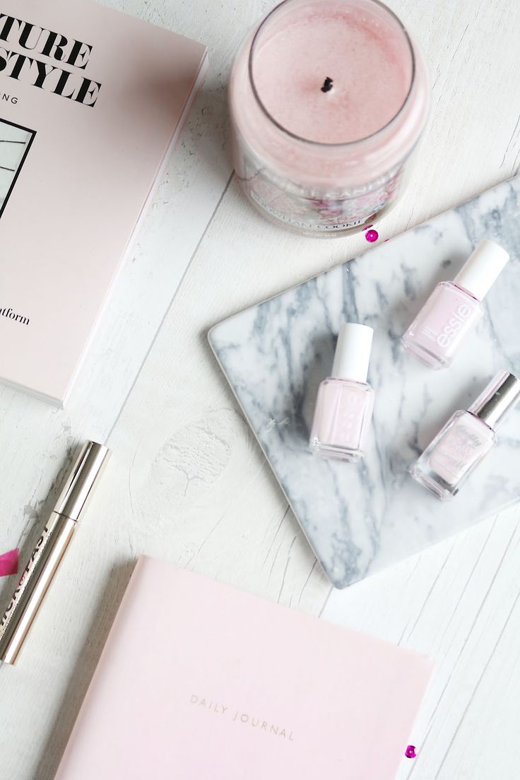 Essie - Fiji and Minimalistic (must try, always on the hunt for a good baby pink nail varnish)