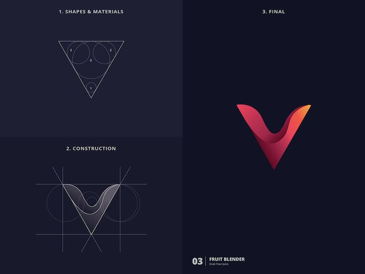 In 25 days, designer creates 25 logos based on the golden ratio.