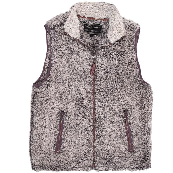 True Grit's Frosty Tipped Vest is about to melt the internet. #truegrit #preppy #ccprep