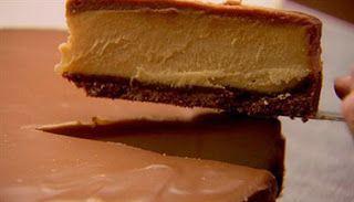 Food Lover: Nigella Lawson Chocolate Peanut Butter Cheesecake
