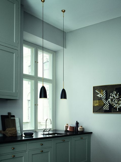 grasshopper pendant lamp by grewa magnusson grossman from. Black Bedroom Furniture Sets. Home Design Ideas